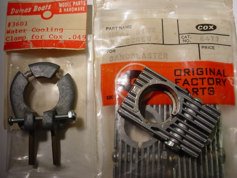 Cox #3601 water cooling clamp 9-1-1412