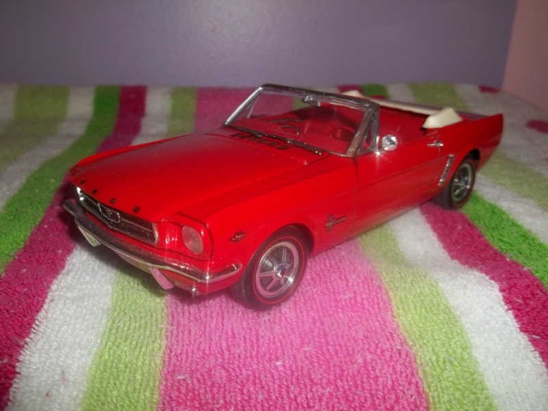 1964½ Mustang conv. Monogram 1/24 01810