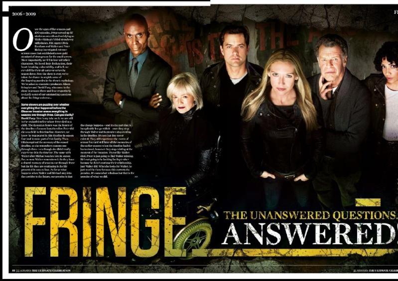 Fringe en el especial dedicado a J.J. Abrams de la revista Total Film y SFX B11