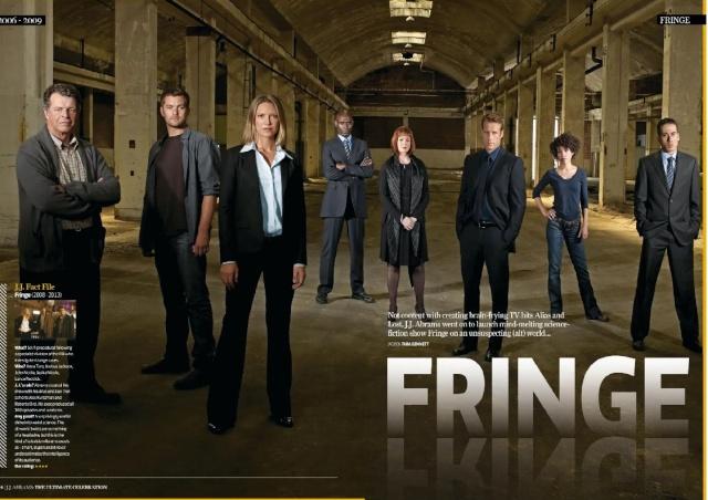 Fringe en el especial dedicado a J.J. Abrams de la revista Total Film y SFX C10