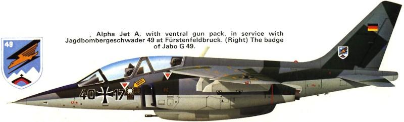 AMD-BA DORNIER Alpha jet A du waffenschule 50 ( kit heller 1/72 ) 45_110