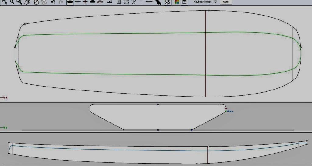 Se construire sa planche de race foil,  full carbone. Board_10