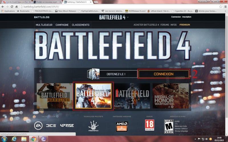 Comment ajouté et appliquer un embleme sur Battlelog. Battle10