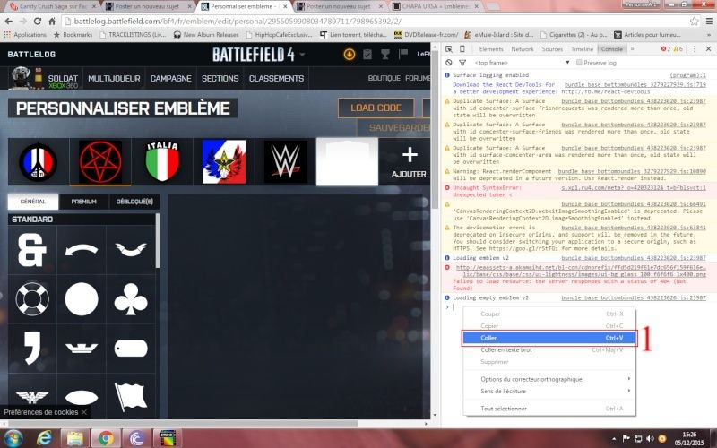 Comment ajouté et appliquer un embleme sur Battlelog. Emblem12