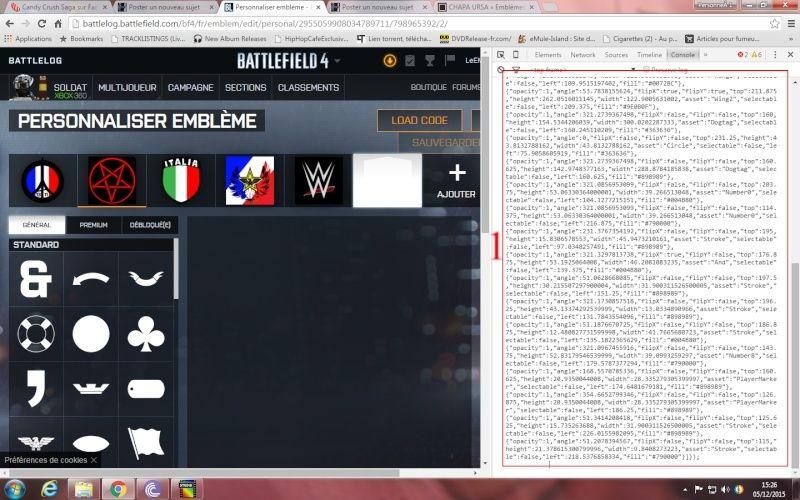 Comment ajouté et appliquer un embleme sur Battlelog. Emblem13