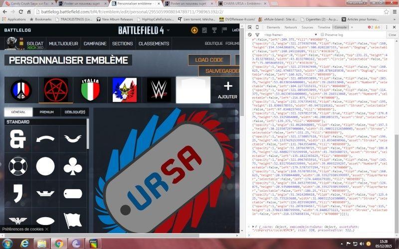 Comment ajouté et appliquer un embleme sur Battlelog. Emblem15