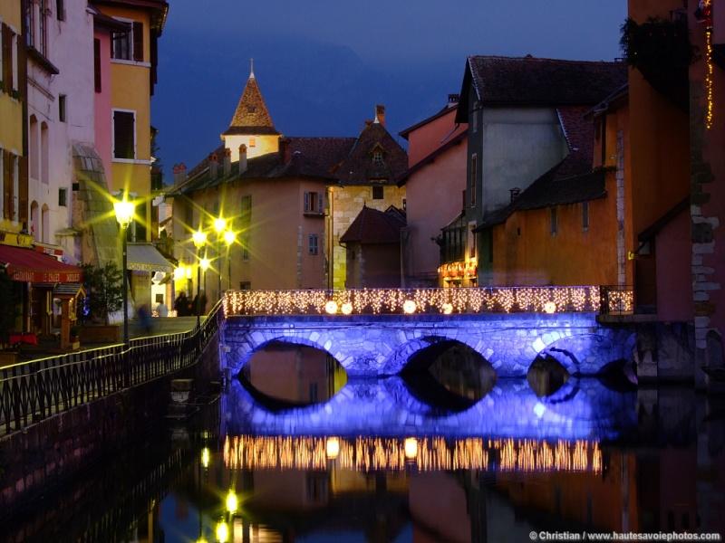 Les illuminations de Noël pour les fêtes 2.015   2.016 ! Annecy12