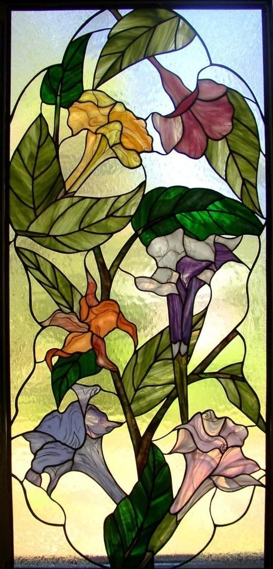 Les FLEURS  dans  L'ART - Page 2 D2479910