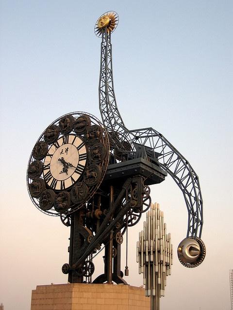 Reçu un beau diapo....Les horloges et pendules des rues..... - Page 7 Gare_d10