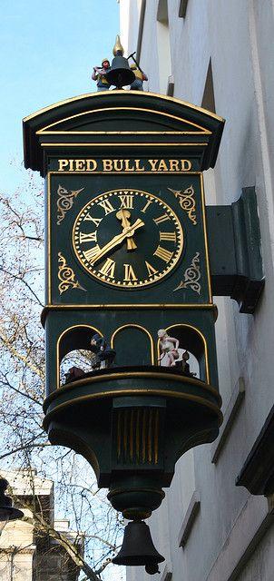 Reçu un beau diapo....Les horloges et pendules des rues..... - Page 6 London10