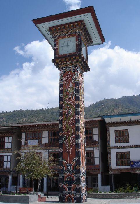 Reçu un beau diapo....Les horloges et pendules des rues..... - Page 6 Thimph10