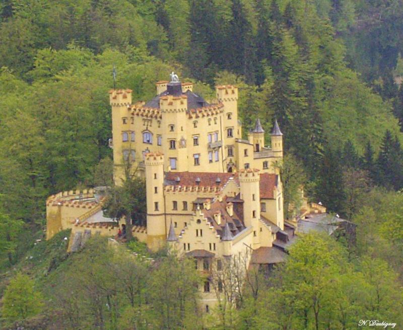 Les châteaux de bavière Hohens10