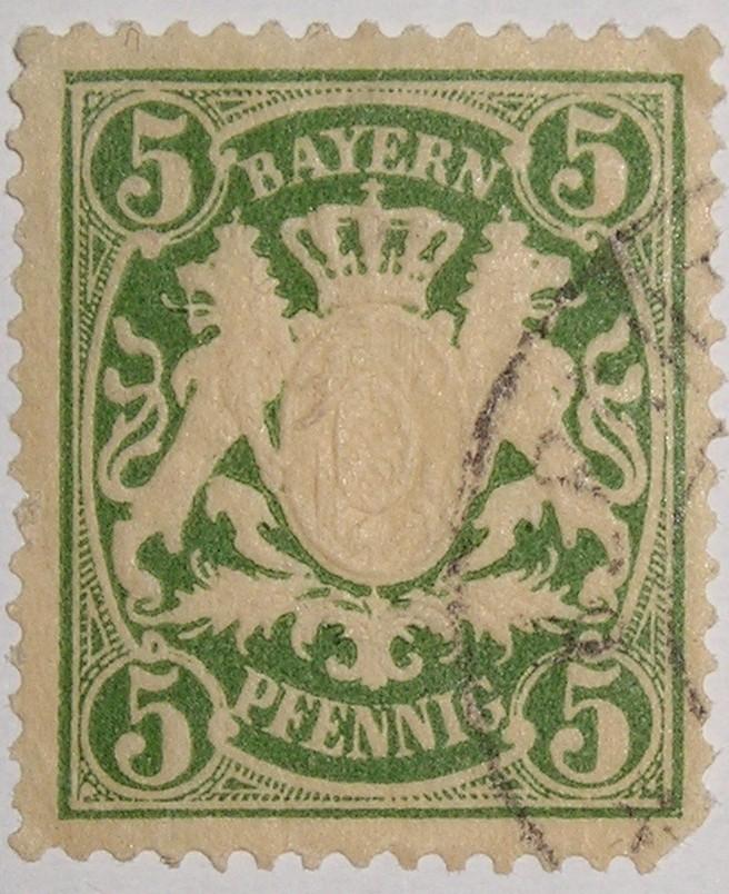 La Bavière Timbre10