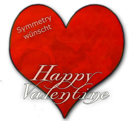 Symmetry - when it's too dark to see whises happy V-day Valent12