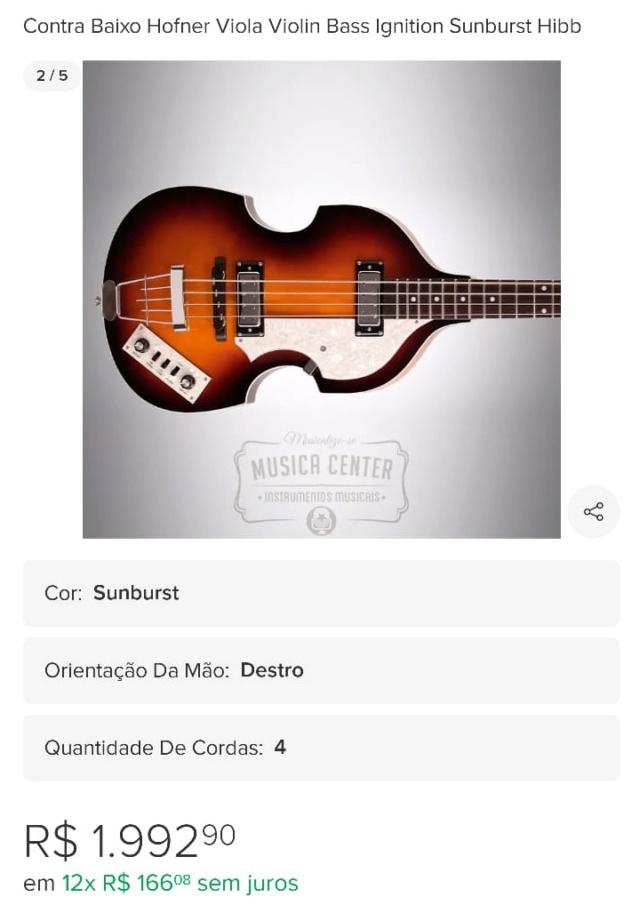 """Alerta - provável tipo de golpe em compra e venda de instrumentos usando ML: """"desvalorização simulada"""" Foto_610"""