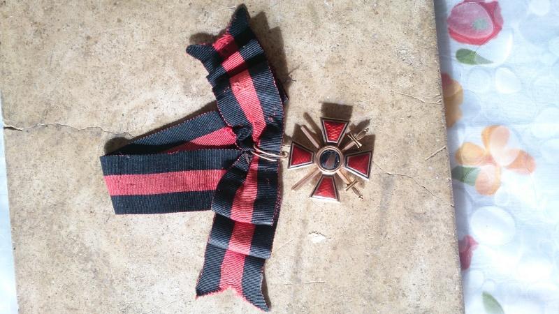 Les objets de mon arrière grand père, officier russe durant la ww1 Dsc_1421
