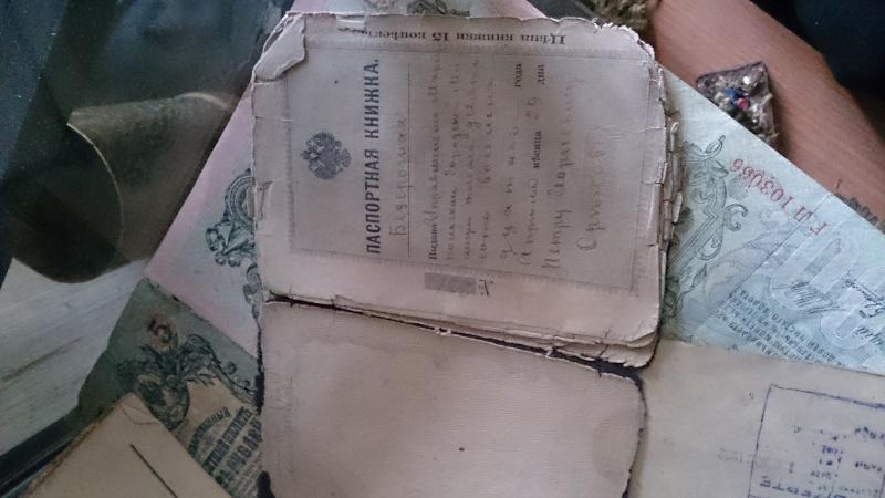 Les objets de mon arrière grand père, officier russe durant la ww1 Dsc_1424