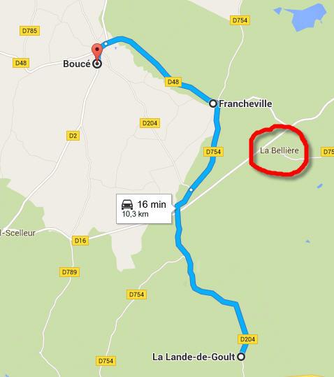 Francheville Orne  Bellie10
