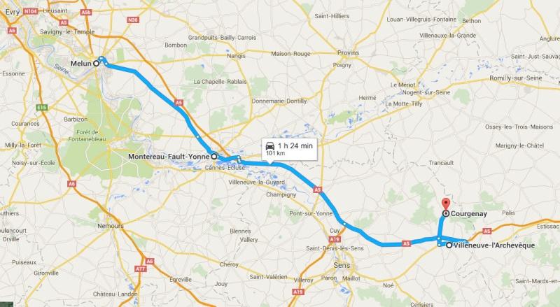 vauluisant - Vauluisant (Courgenay) Yonne Melun110