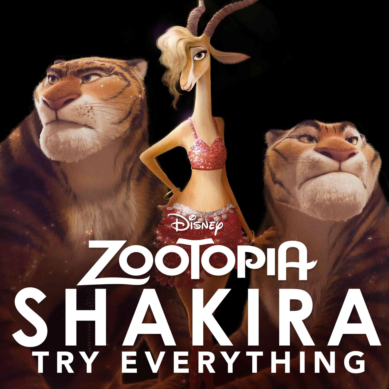 "Shakira - Try Everything (From ""Zootopia"") Shakir10"