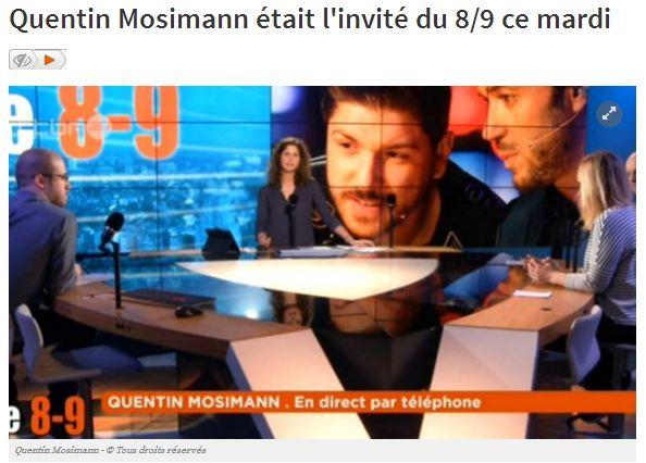 [26/01/2016] Vivacité - L'INVITE DU 8/9: QUENTIN MOSIMANN Captur13