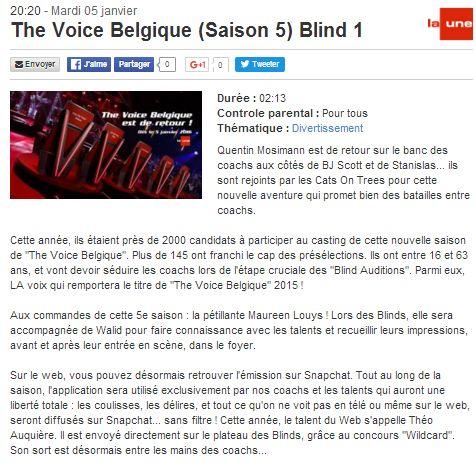[05/01/2016-20h20] RTBF La Une - The Voice Belgique - Blind 1 The_vo10