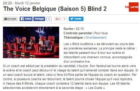 [12/01/2016-20h20] RTBF La Une - The Voice Belgique - Blind 2  The_vo11