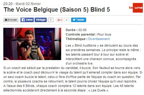 [02/02/2016-20h20] RTBF La Une - The Voice Belgique - Blind 5   The_vo14