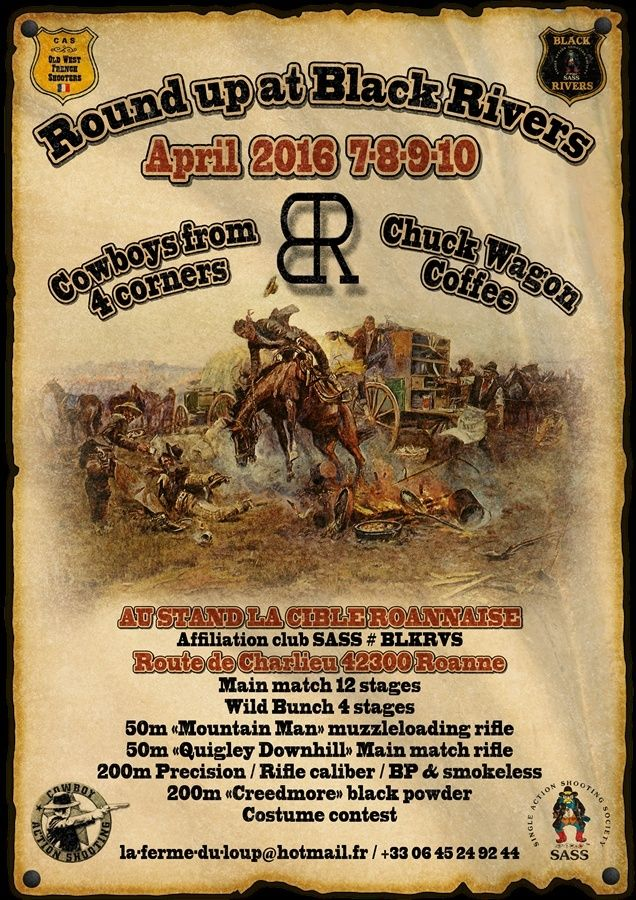 Round up at Black Rivers april 2016 Affich11