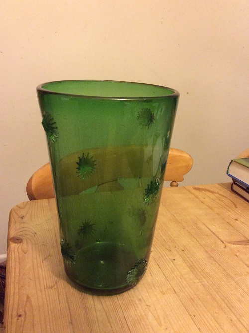 help to ifentify date and manufacturer of this green wine bucket Img_0712