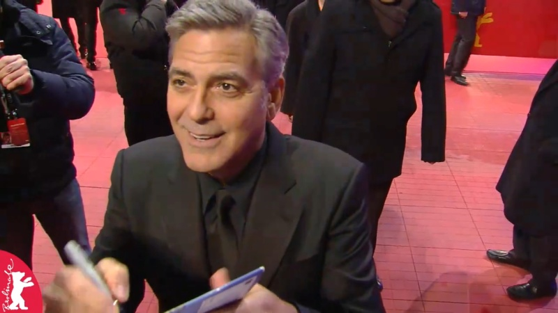 George Clooney and Amal on the red carpet for Hail Caesar Berlin Film Fest premiere Berlin20