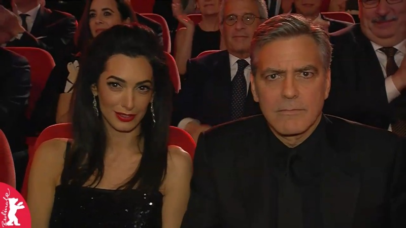 George Clooney and Amal on the red carpet for Hail Caesar Berlin Film Fest premiere Berlin22