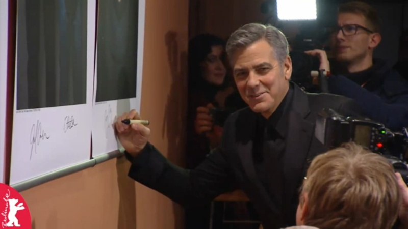 George Clooney and Amal on the red carpet for Hail Caesar Berlin Film Fest premiere Berlin23