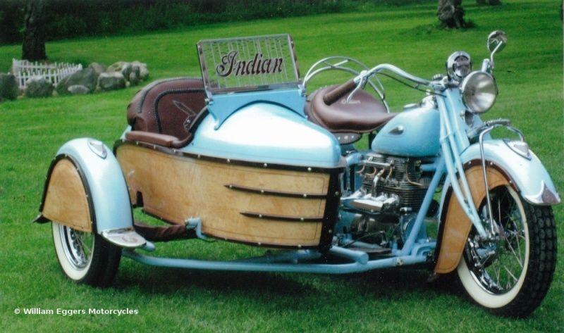 Les SIDE-CAR HARLEY et INDIAN 1941-i10