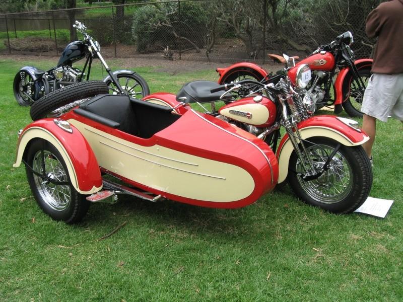 Les SIDE-CAR HARLEY et INDIAN 53133710