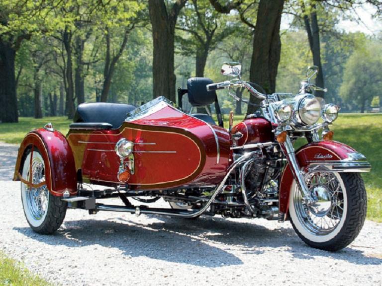 Les SIDE-CAR HARLEY et INDIAN Electr10