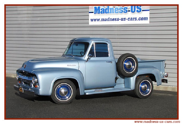 les pick-up Ford-f10