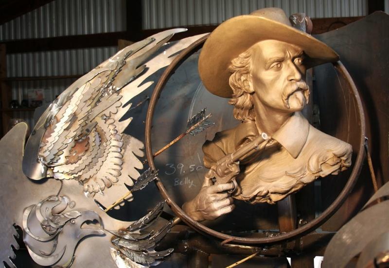 sculture et art Kustom Kulture/old school George10