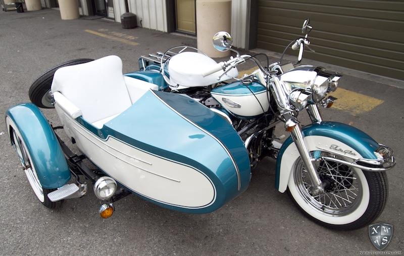Les SIDE-CAR HARLEY et INDIAN Harley17