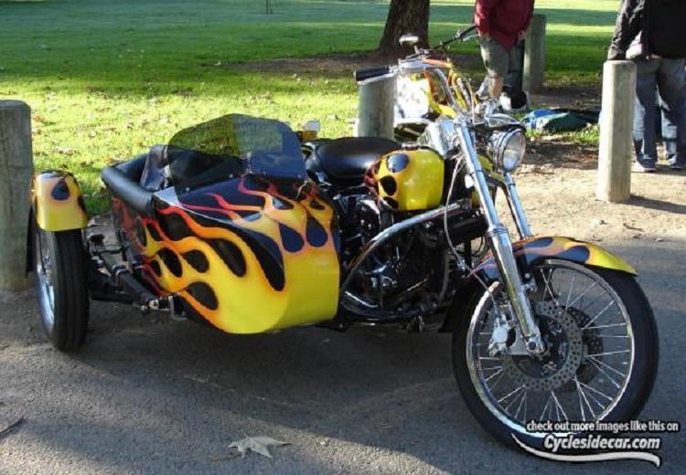 Les SIDE-CAR HARLEY et INDIAN Harley18