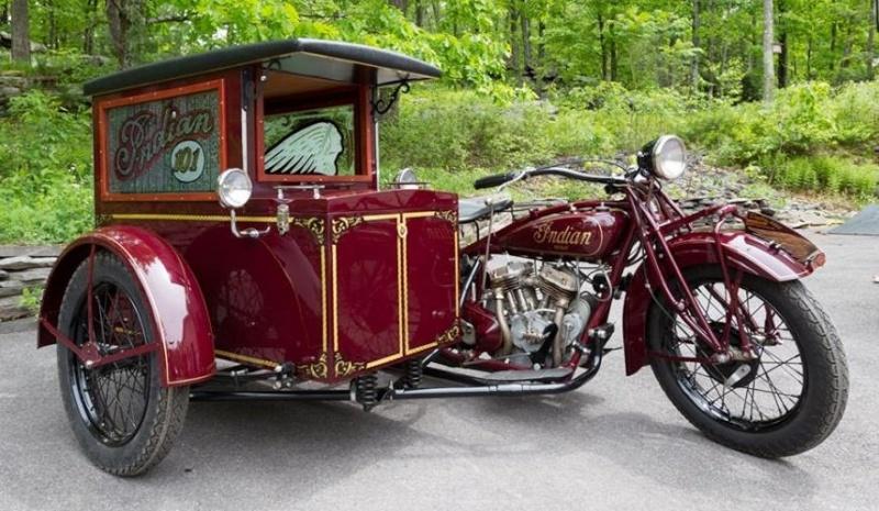 Les SIDE-CAR HARLEY et INDIAN Indian13
