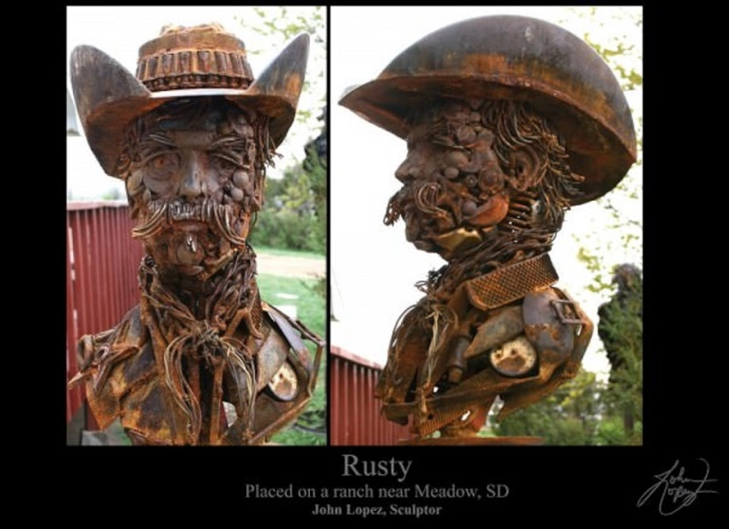 sculture et art Kustom Kulture/old school Rusty-10