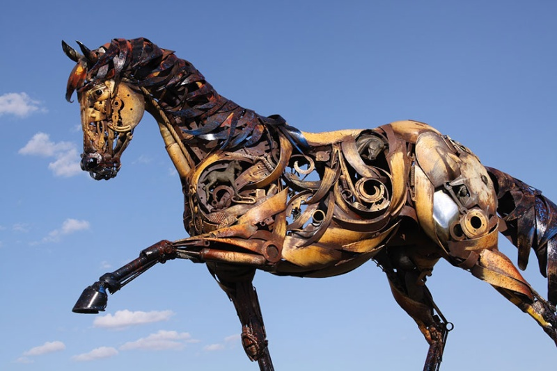 sculture et art Kustom Kulture/old school Welded10