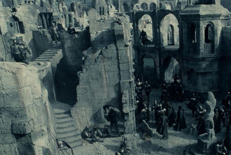 Diorama : la chute d'Osgiliath - Page 2 Ruins_10