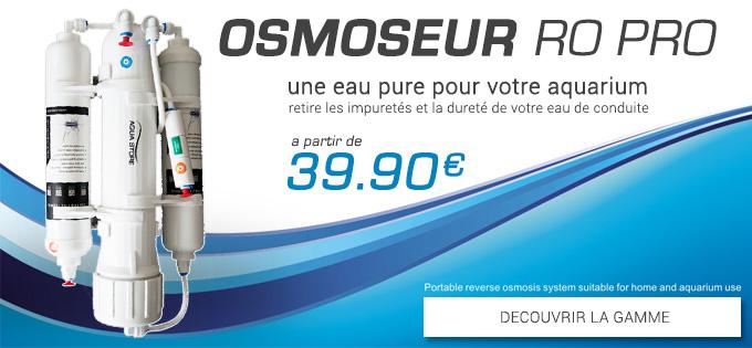 -20% sur les nouveaux osmoseurs Osmose10