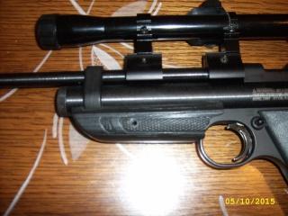 crosman 2300T carabine et 1322 custom Jd531018