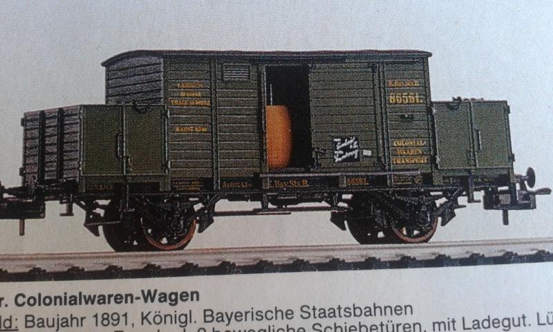 Güterwagen Epoche I 20151225