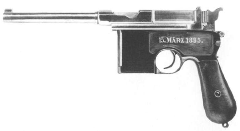 prototype du C96 Mauser10