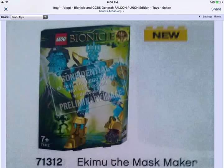 [Univers] Mystère et hypothèse sur la GEN 2 de Bionicle - Page 4 96024010
