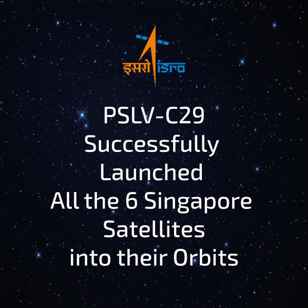 Lancement PSLV(CA) C29 - TeLEOS-1 + KR 1 + VELOX C1 + VELOX 2 + Galassia  - 16 Décembre 2015   153